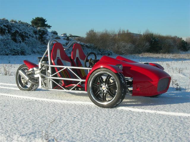 Trike op Yamaha R1 basis