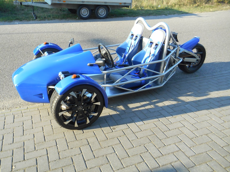 R1 of Hayabusa Trike