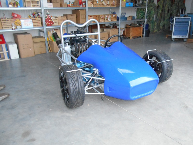 R1 of Hayabusa trikebouwproject