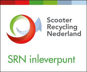 Wij zijn aangesloten bij Scooter Recycling Nederland