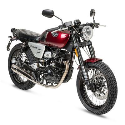 Black cafe 125cc motor