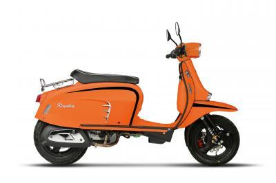 Royal Alloy 200cc motorscooter